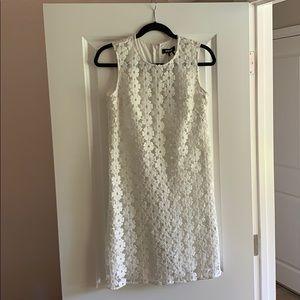 White Floral Dress DKNY